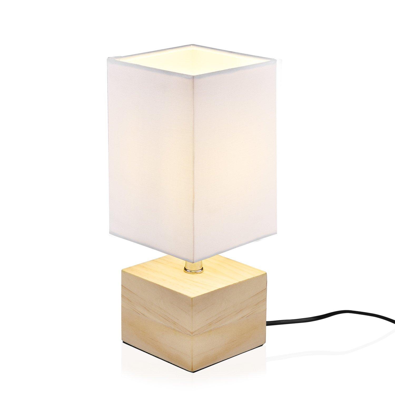 Surpars House Minimaliste En Bois Massif Table Lampe De Chevet Lampe