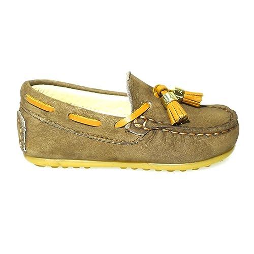 CLARYS Zapatos Niño Mocasines Naúticos N20158 Marron 22: Amazon.es: Zapatos y complementos