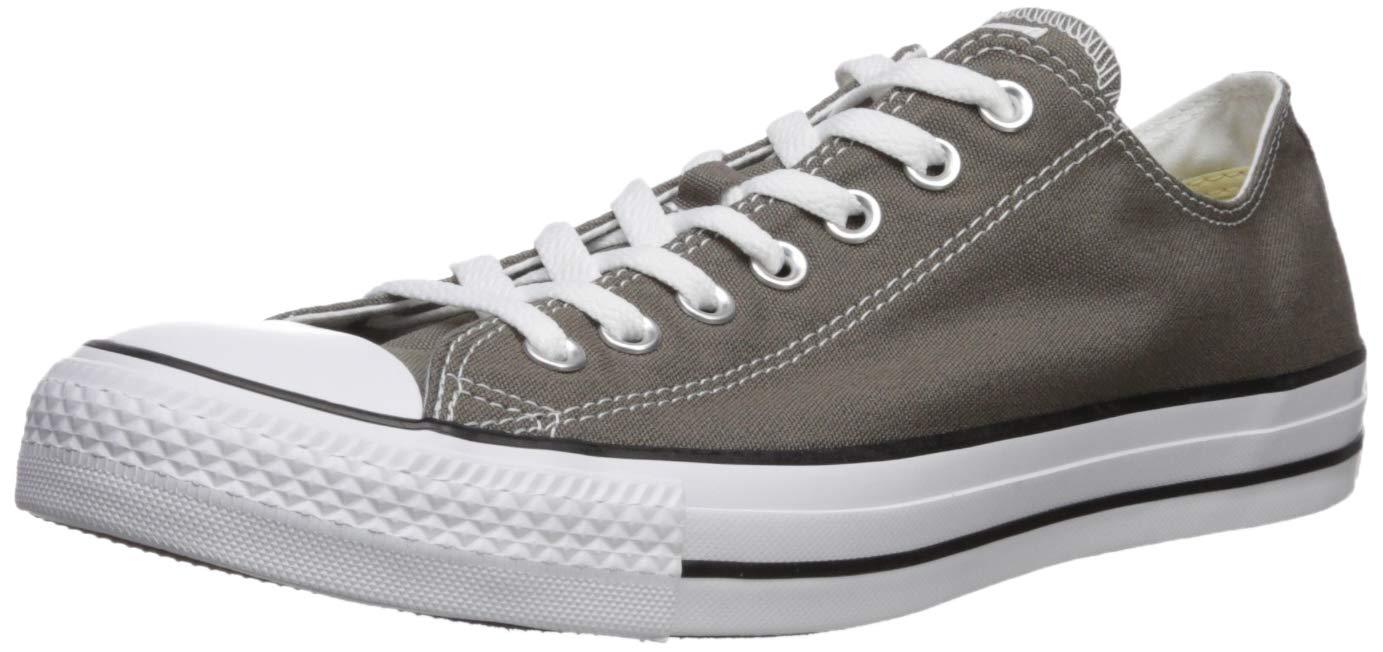 Converse Chuck Taylor Core Mens Chuck Taylor All Star Ox Sneaker, Charcoal, 9.5 D(M) US
