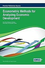 Econometric Methods for Analyzing Economic Development Hardcover