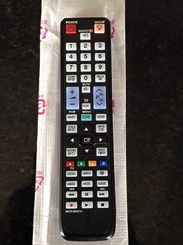 Universal de reemplazo de control remoto para Samsung 3D SMART TV funciona todos los 2009 -2014 TV`s: Amazon.es: Electrónica