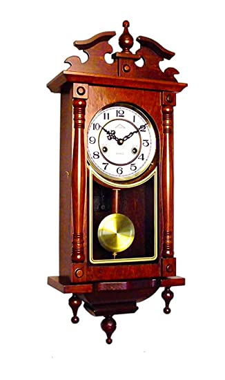 Orologio a Pendolo Meccanico Regolatore | Carica 31 Giorni ...