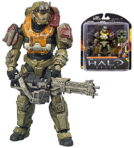 """Halo Reach Jorge UNSC Series 1 Action Figure 5"""" IN STOCK"""
