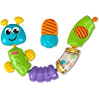 MATTEL W9834 Fisher-Price Brilliant Basics Snap-Lock Caterpillar Medium