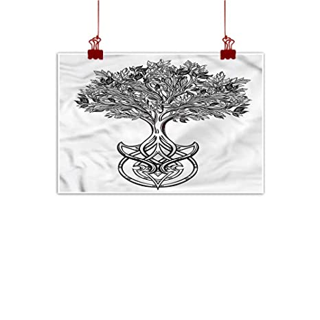 Amazon com : Simple Life Minimalist Tree of Life, Spiritual Celtic