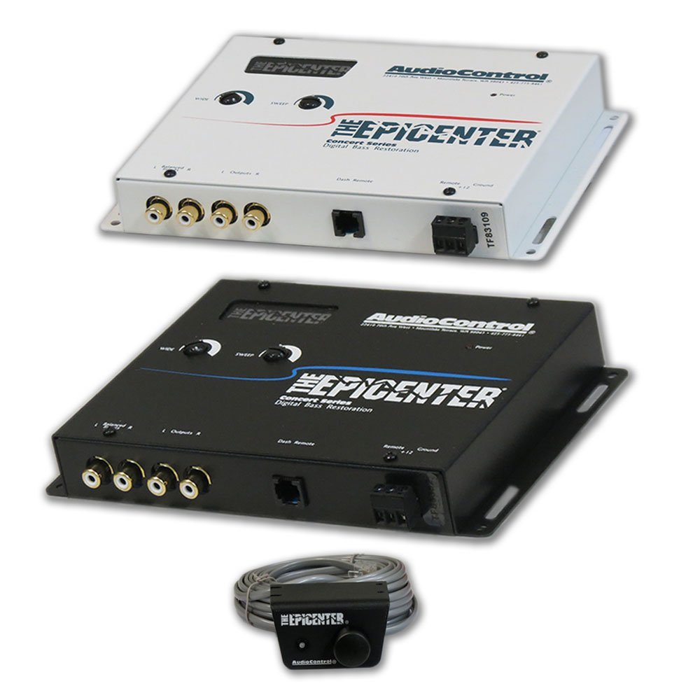 AudioControl The Epicenter Car audio Digital Bass Restoration Processor Equalizer (Optional Color)