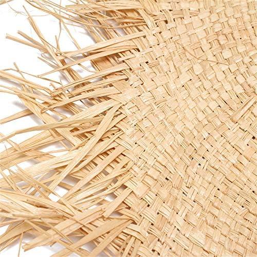 NOMIMAS Women Sun Hats Summer Raffia Straw Fringe Breathable Folppy Wide Brim Caps for Beach Party Picnic Holiday Beige