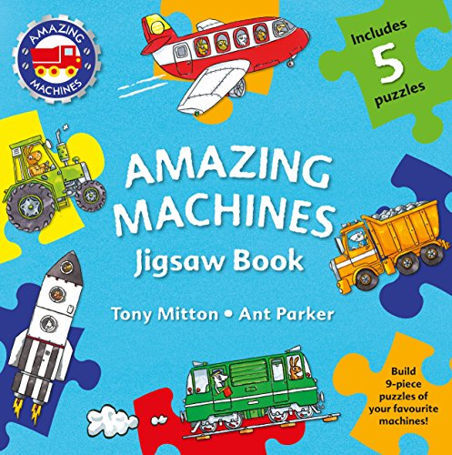 (Amazing Machines Jigsaw Book )