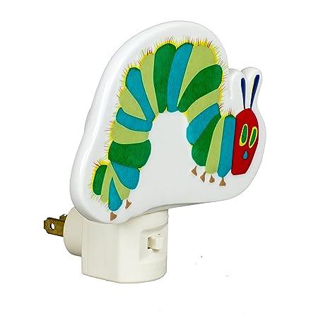 Roman The Very Hungary Caterpillar Electrical Porcelain Plug-in Night-light Inc 45956