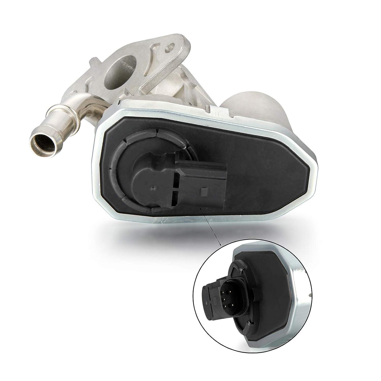 Madlife Garage 1480549 8C1Q-9D475-AA Valve EGR refroidie /à leau avec joints pour 2007 2017 Transit 3.2 2.2 2.4 2006-2017 Boxer 2.2
