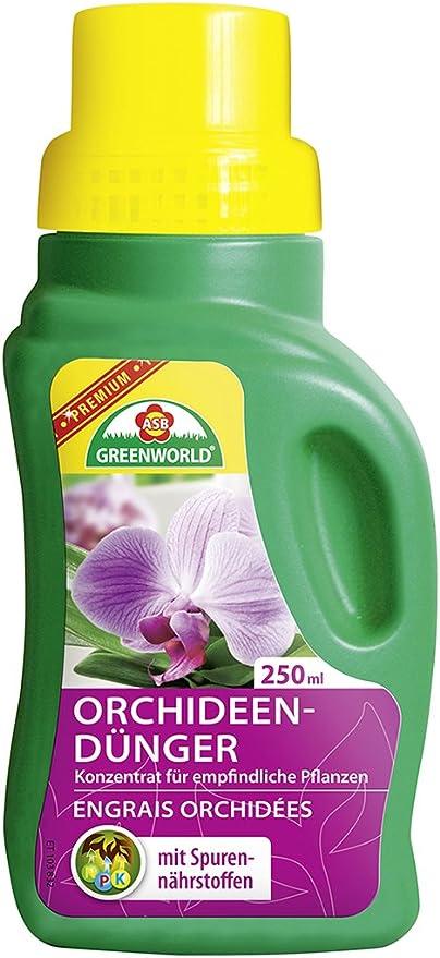 ASB Premium para orquídeas, 250 ml, 8/Caja de cartón, Verde: Amazon.es: Jardín