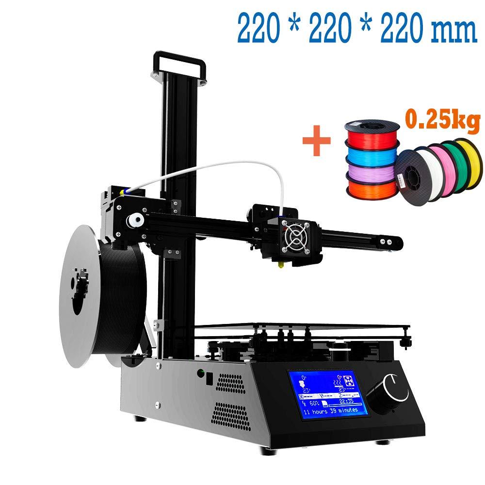 Impresora 3d Prusa i3 Full Metal Structure con MK3 heatbed, Double Fans, pantalla LCD HD, tamañ o má ximo de impresió n color 220 * 220 * 220 mm tamaño máximo de impresión color 220 * 220 * 220 mm TRONXY