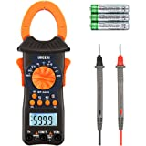 URCERI Digital Clamp Meter 6000 Counts True RMS Auto-Ranging Multimeter with AC/DC Voltage Current Resistance Capacitance Frequency Diode Tester