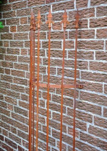 Pérgola Caso Tubo verkleidung 10 mm Completo, altura: 180 cm, hierro): Amazon.es: Jardín