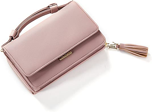 White and Rose Gold Evening Clutch with Detachable Tassel Keychain  Women/'s Wristlet  Small Evening Bag  Minimalist Vegan Leather Purse