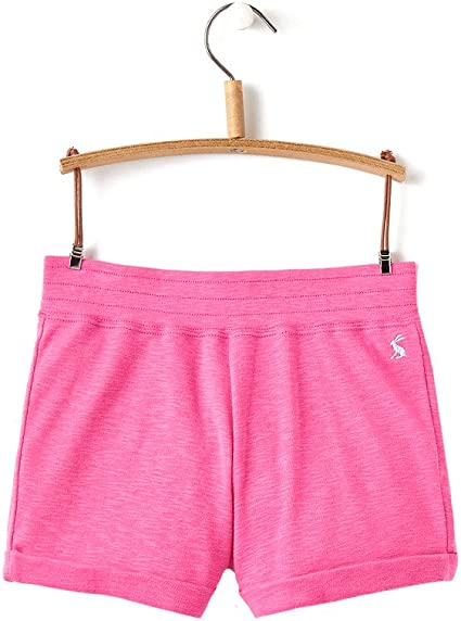 Joules Jersey Shorts in BRIGHT PINK