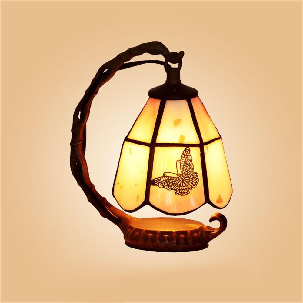 Gweat Creative LED Warm Bedside Lamp Feeding European Small Luxury Lamp Night Light by Gweat Tiffany (Image #1)