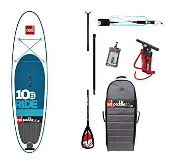 "Red Paddle Co Ride 106"" x 32"" + Paddle Alloy Travel 3"