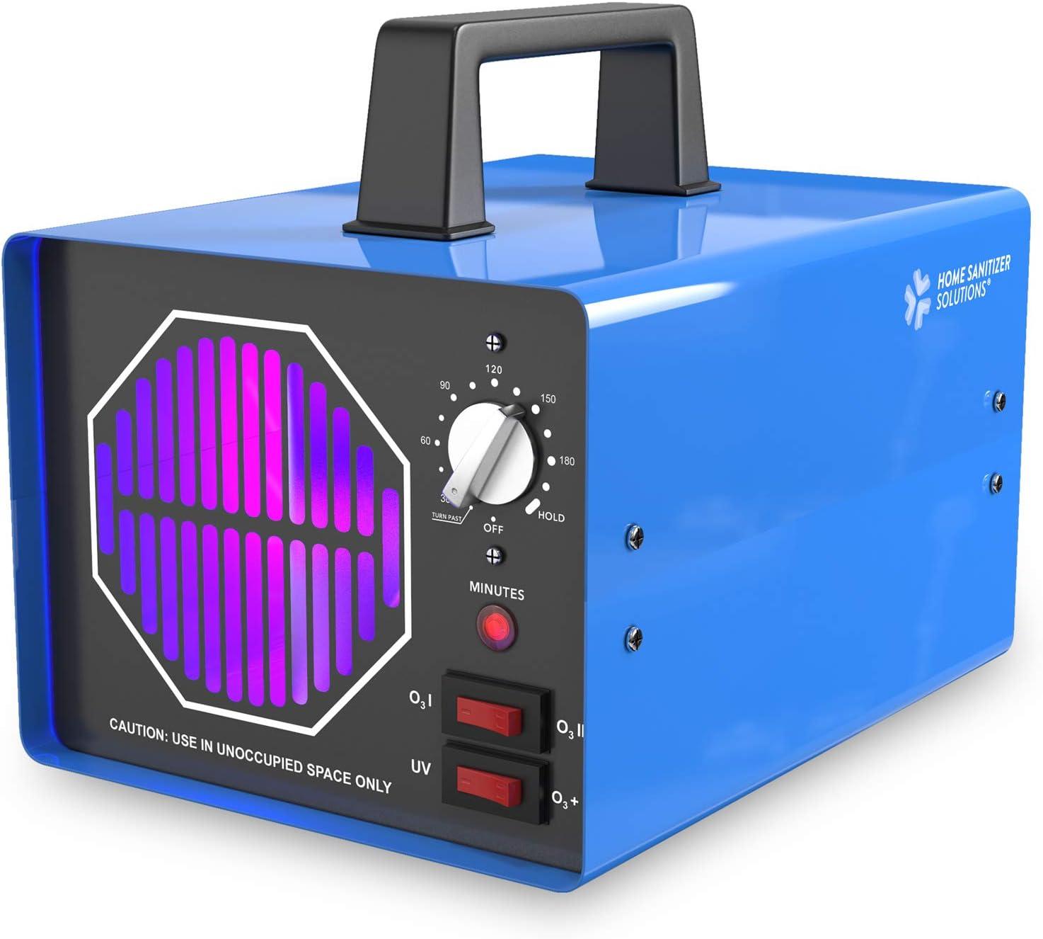 Industrial Ozone Generator 25,000mg/h, O3 High Capacity Air Purifier, Sterilizer and Deodorizer, Q3 Ionizer Machine