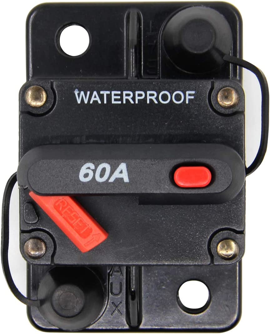 ZOOKOTO Manual Reset 30A Circuit Breaker Fuse holder For Motor ...