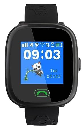 Reloj inteligente de posicionamiento triple para niños, de Super-Life, GPS y GPRS