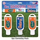 florida gators football gloves - Worthy Promotional NCAA Florida Gators 5-Piece Game Day Pack with 2 Lip Balms, 1 Hand Lotion, 1 Hand Sanitizer, 1 SPF 30 Sport Sunscreen