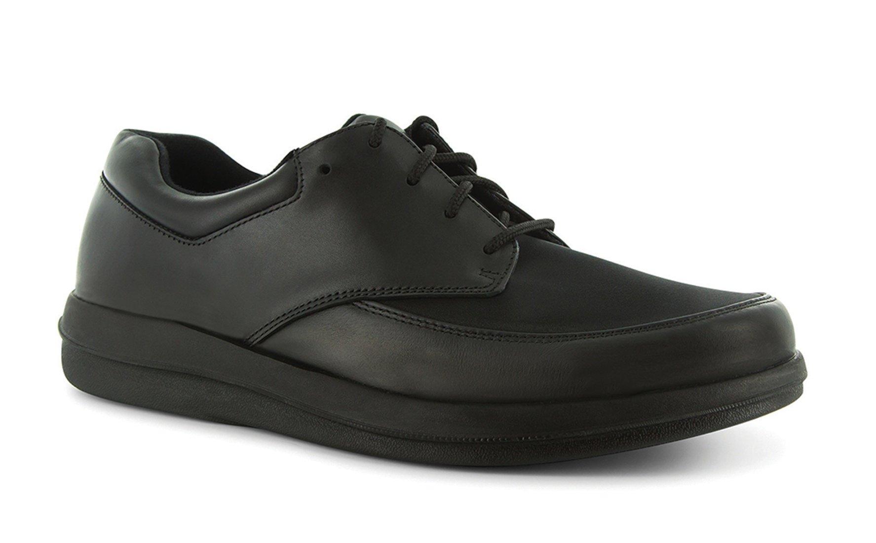 P W Minor Natural Men's Therapeutic Diabetic Extra Depth Shoe: Black 15 Wide (E) Lace by P.W. Minor (Image #1)
