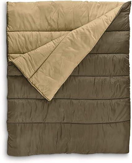 Guide Gear Rectangular Double Sleeping Bag 20/°F