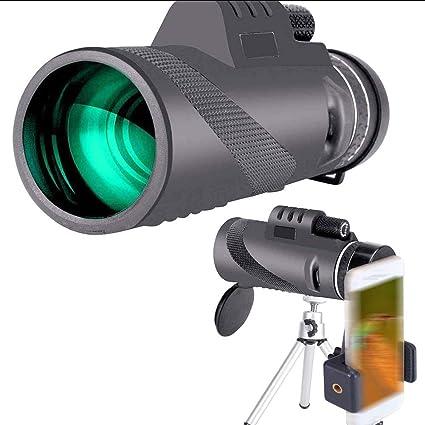40x60 Monocular Telescope Mobile Phone Telescope With Mobile Phone Holder Tripod Hd For Climbing Hiking Hunting Bird Watching Sport Freizeit