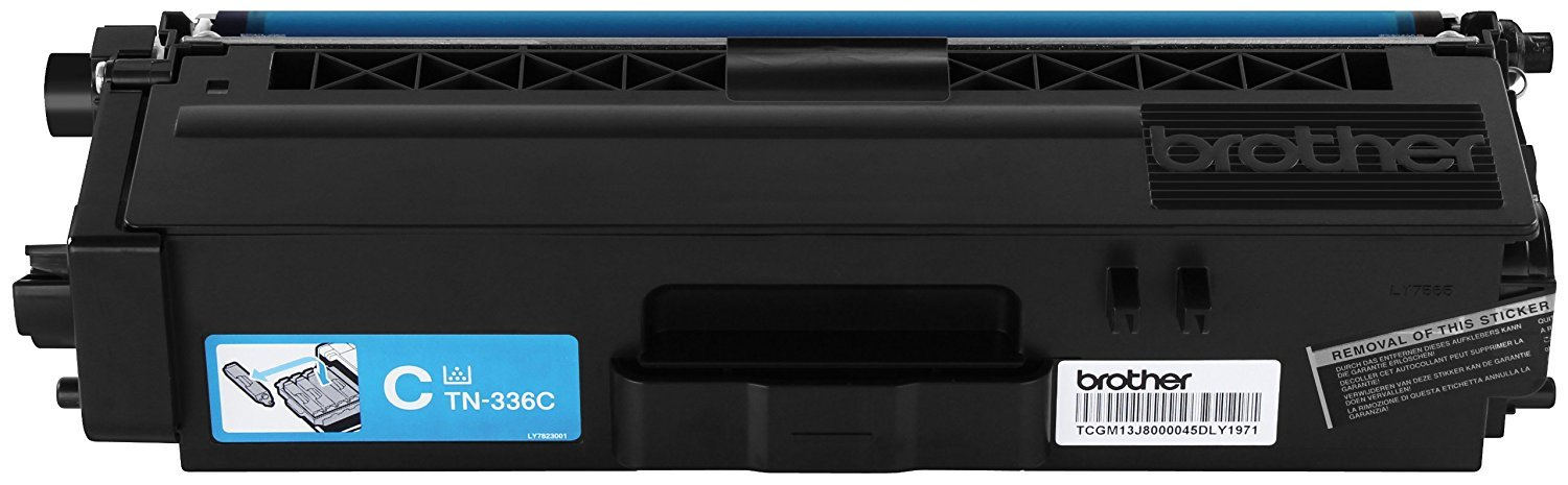 Brother TN336BK, TN336C, TN336M, TN336Y High Yield Black, Cyan, Magenta and Yellow  Toner Cartridge Set by Brother (Image #5)