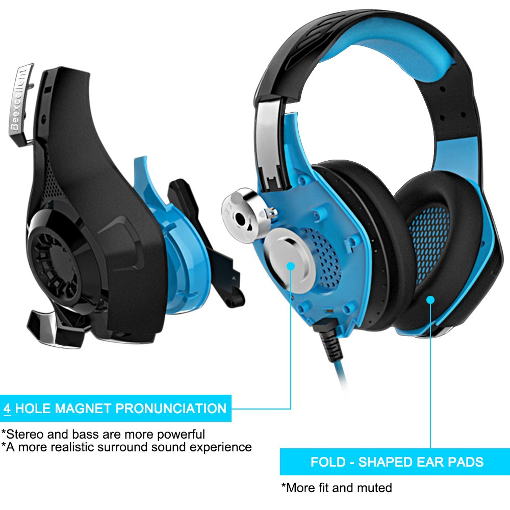 SENHAI GM-1 Gaming Headset for PS4, Tablet, iPhone 6/6s/6 plus Ipad ...