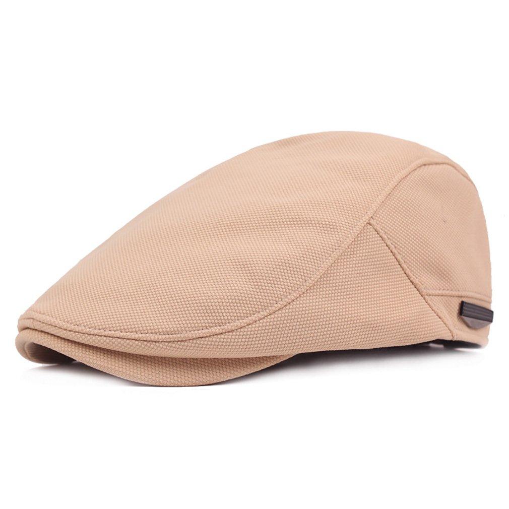 RICHTOER Beret Flat Caps Newsboy Cap Woolen Flat Cap Man Summer Autumn