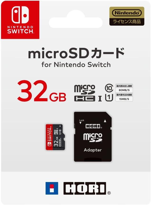 Hori [Interruptor Nintendo Correspondiente Tarjeta Micro SD de 32 ...