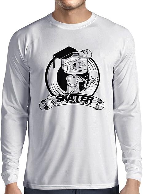 lepni.me Camiseta de Manga Larga para Hombre Pro Skate ...