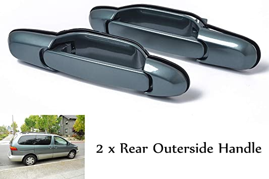 Left or Right Rear Sliding w// Power Outside Handle for 98-03 Toyota Sienna