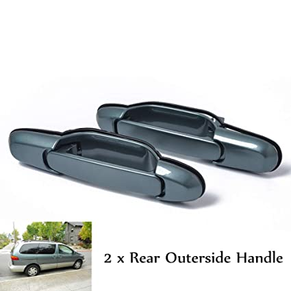 For 98-03 Toyota Sienna Outside Exterior Rear Left or Right Door Handle Black