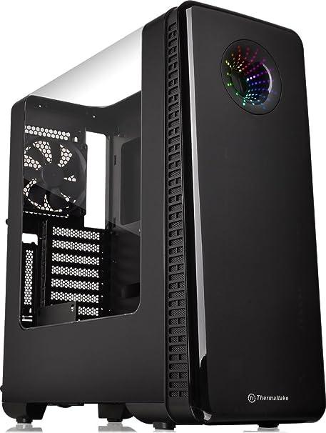 Thermaltake View 28 RGB Midi-Tower - Caja de ordenador (Midi-Tower, PC, SPCC, ATX,ITX,Micro-ATX, Juego), color negro: Amazon.es: Informática