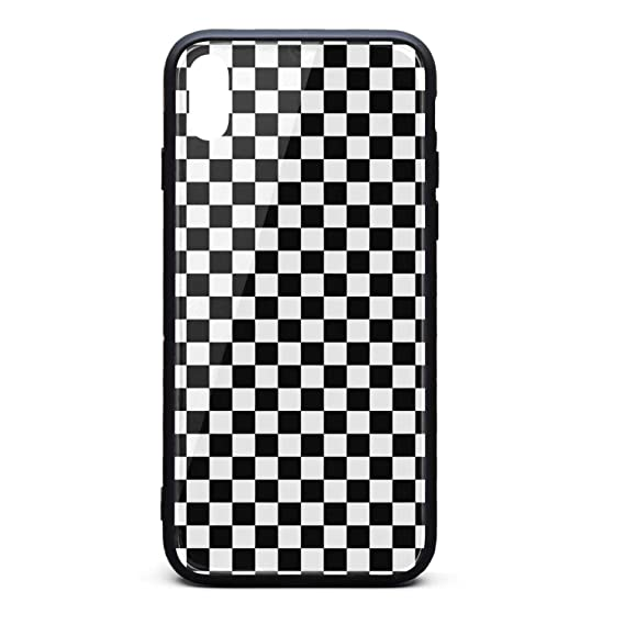 checkered iphone xs max case