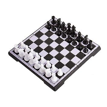 Ajedrez de Madera, Plegable Juego de ajedrez, ajedrez magnético ...
