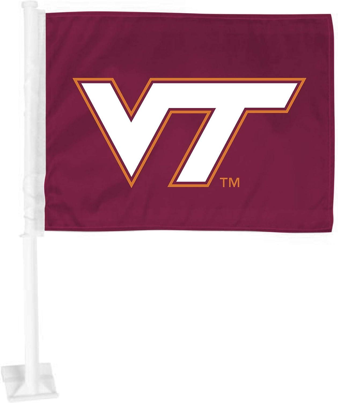 FANMATS Virginia Tech Car Flag 11 x 14