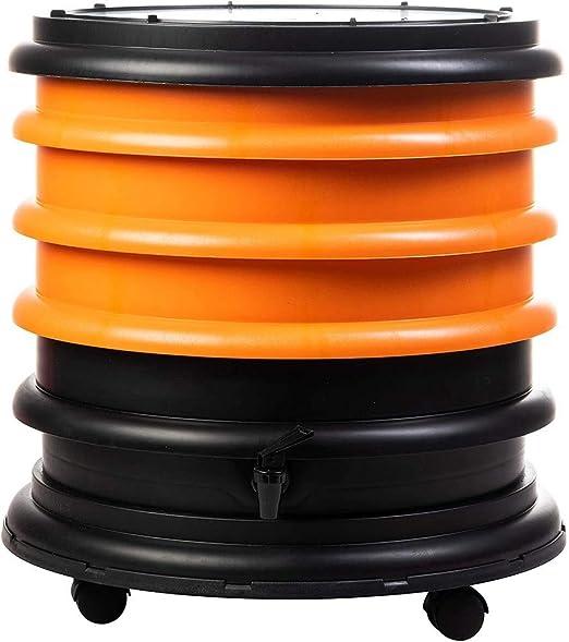 WormBox : Vermicompostador 3 bandejas Naranja - 48 litros: Amazon.es: Jardín