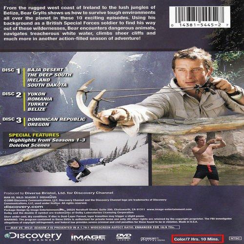 Man vs Wild: Season 3 by MAN VS WILD
