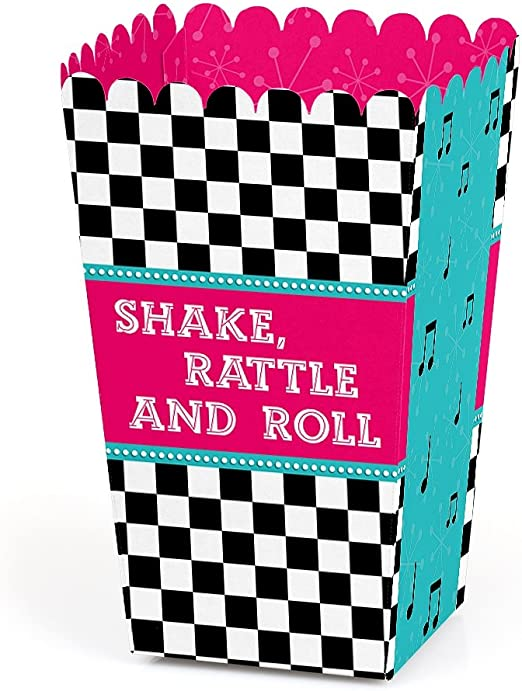 The great 50\u2019s Favor Boxes  50s  50/'s Party 50/'s g=favor boxes  the 50/'s rock