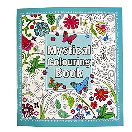Mystical Adult Coloring Book - 64 Pages