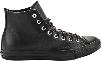 8d2cbe555dbf Converse Unisex Sneakers CT Hi All Black Leather Thinsulate Insulation  Shoes (5 Men  7