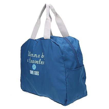 f22c98444f47 Generic grey : Hot Portable Large Capacity Unisex Shoulder Handbags Folding  Waterproof Luggage Travel Bags Women Men' s Luggage Bags Duffle Bag: ...