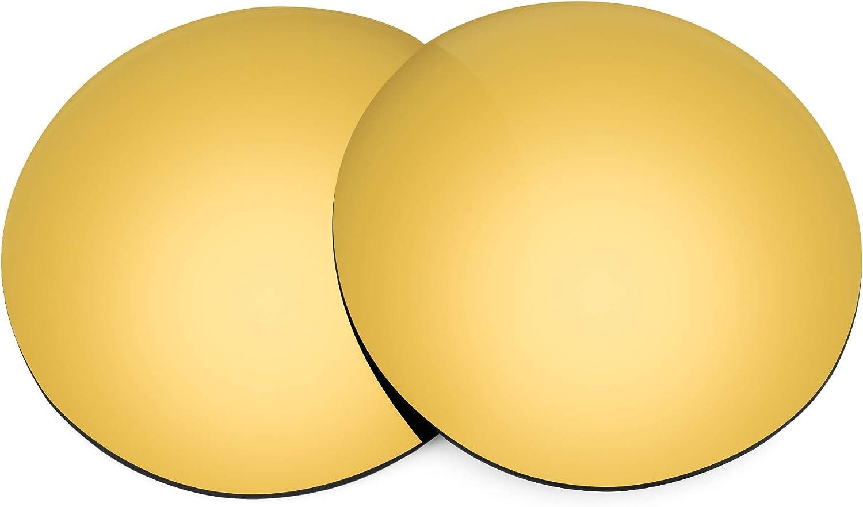 Revant Verres de Rechange pour Ray-Ban Clubmaster RB3016 49mm Or Mirrorshield - Polarisés