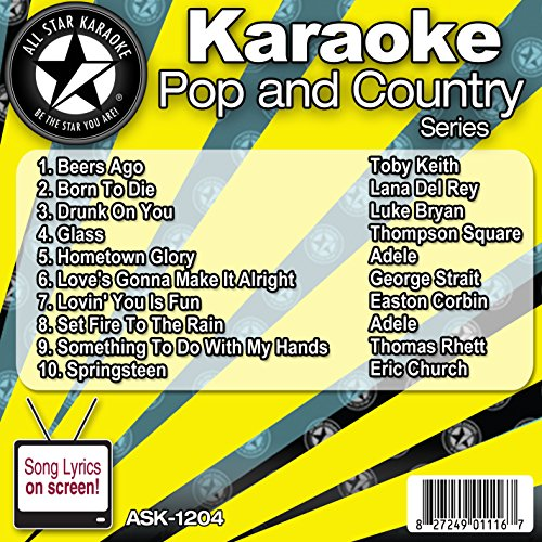 All Star Karaoke Pop and Country Series - Cd Annie Karaoke