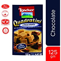 Loacker Quadartini Chocolate Wafers, 125 g