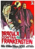 Dracula Vs. Frankenstein POSTER Movie (11 x 17 Inches - 28cm x 44cm) (1971) (Spanish Style A)